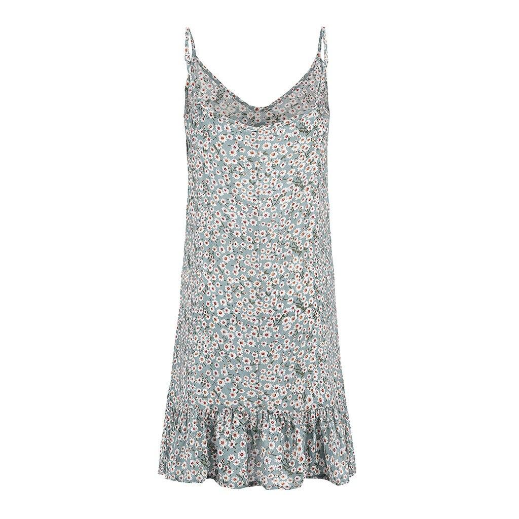 HTB1mbQSKMHqK1RjSZFgq6y7JXXaa MUQGEW floral dress women dresses summer 2019 Women's Printing Off-Shoulder short Sleeve Mini Dress Princess Dress#Y3