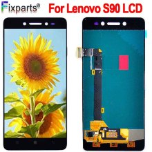 100% Tested Lenovo S90 LCD Touch Screen panel Digitizer Assembly Replacement S90T S90U S90A With Frame 5.0