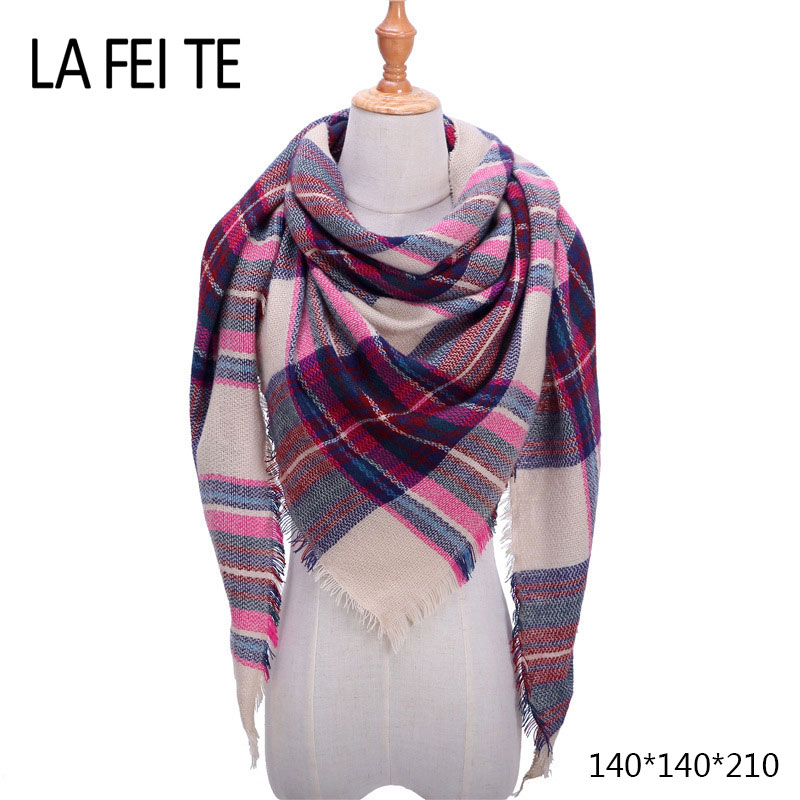Independent Scarves For Men Scarf Winter Warm Cashmere Cape Skull Luxury Brand Gift Cashmere Plaid Pashmina For Dress Scarfs High Quality Men's Scarves