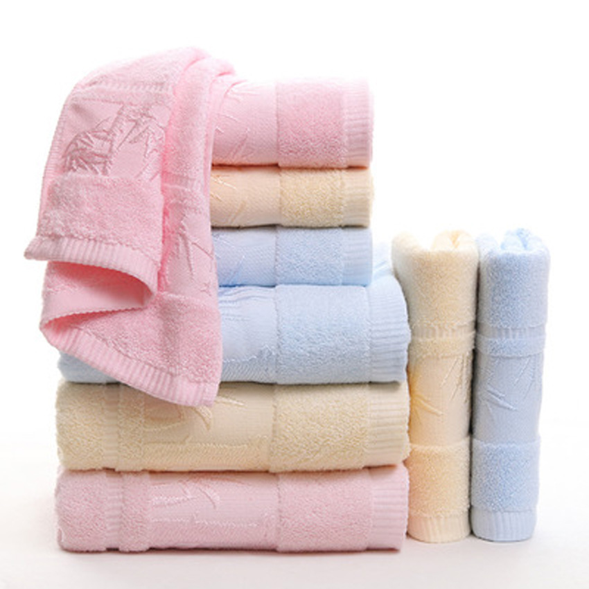 100% Cotton Bamboo Forest Thick Soft Print Towel Set For Adults Kids Kitchen Hand Hotel Spa Face Hair Bath Towel havlu toallas