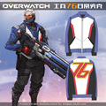 2017 new Game Cosplay Costume SOLDIER:76 Jake Morrison D VA Jackets Size S-XXL