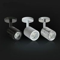 6pcs New LED spot Lamps  3w led Bedroom Bedside Light Direction Adjustable Reading Lamp Home lighting 3 years warranty time|LED Indoor Wall Lamps| |  -