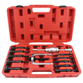Profesional 16 UNID BLIND HOLE EXTRACTOR de COJINETES PILOTO INTERNA EXTRACTOR REMOVAL KIT W/SLIDE
