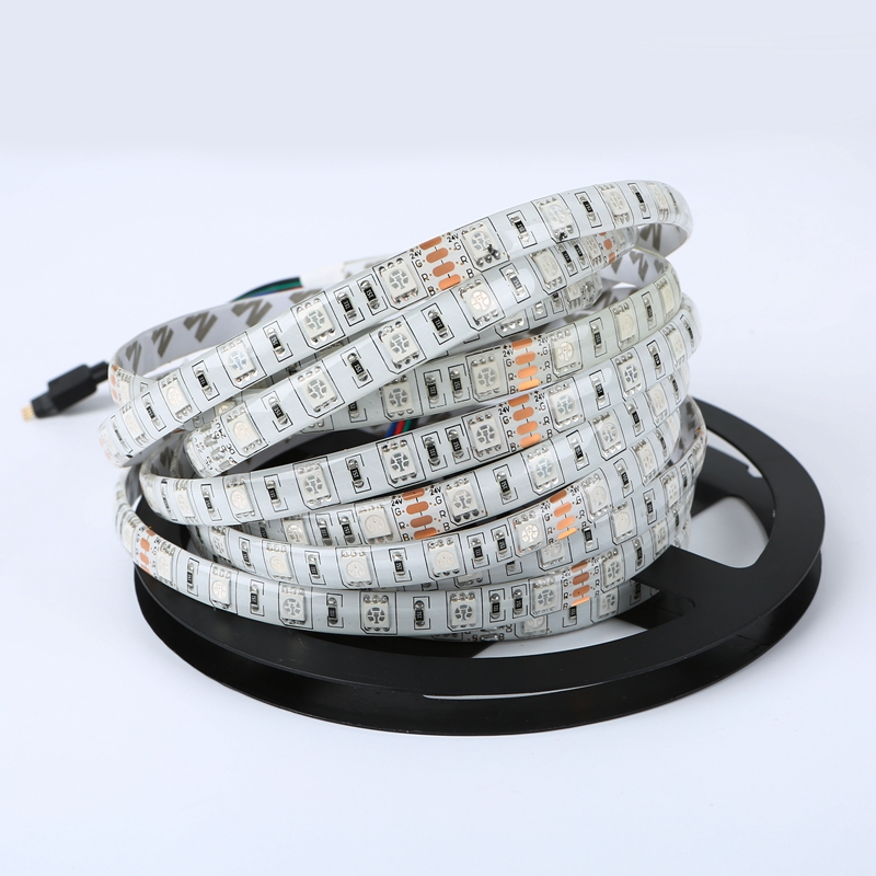 24v led strip 5050 waterproof flexible rope light 5m 300leds cold 24v led strip 5050 waterproof flexible rope light 5m 300leds cold warm white blue red green yellow rgb led tape smd5050 in led strips from lights aloadofball Gallery