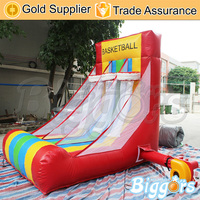 Cheap Top Quality Inflatable Football Soccer Goal Game for Sports