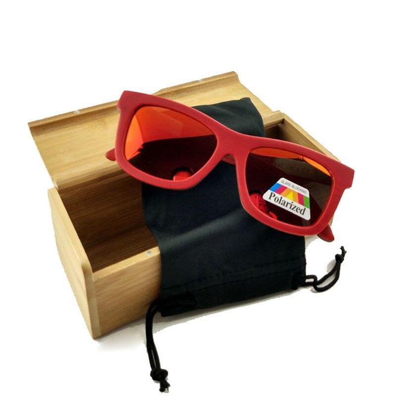 2017 סקייטבורד חדש עץ משקפי שמש הקיץ משקפי שמש משקפיים עם עדשות מקוטבות משלוח חינם LUB141