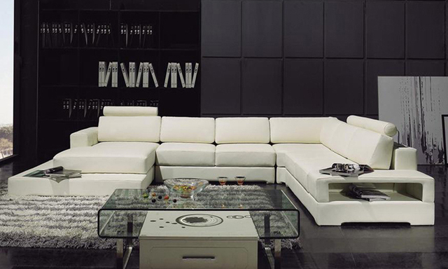 Dernieres Design Moderne Canape En Forme De U Canape D Angle Avec