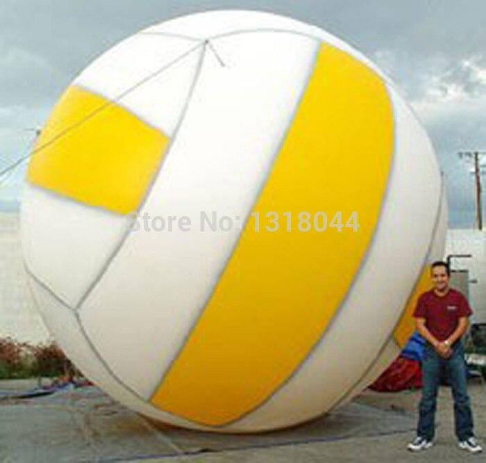 2014 Горячие продажи рекламы машина прошитой гигантские надувные волейбол