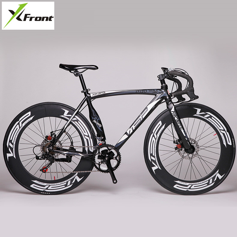 New Brand Road Bike Aluminum Alloy Frame Dual Disc Brake 14 Speed Bicycle Outdoor Sports Cycling Racing Bicicleta|bicycle brands|brand bicycle|speed bicycle - title=