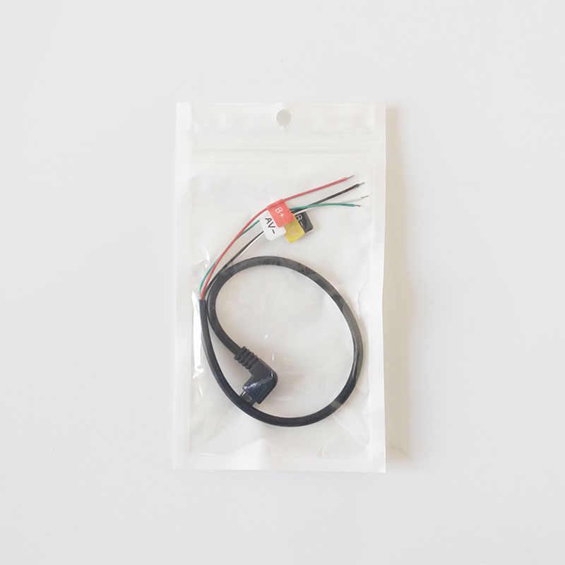 SJCAM разъем Micro USB для AV-OUT кабеля для SJ CAM SJ4000/SJ5000/SJ5000X Elite/M10 Спорт действий Камера FPV аудио-видео кабель