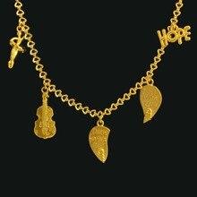 HOFFEN Schöne Armband Vergoldet Modeschmuck Violine Armband Frauen Mädchen Geschenk Großhandel