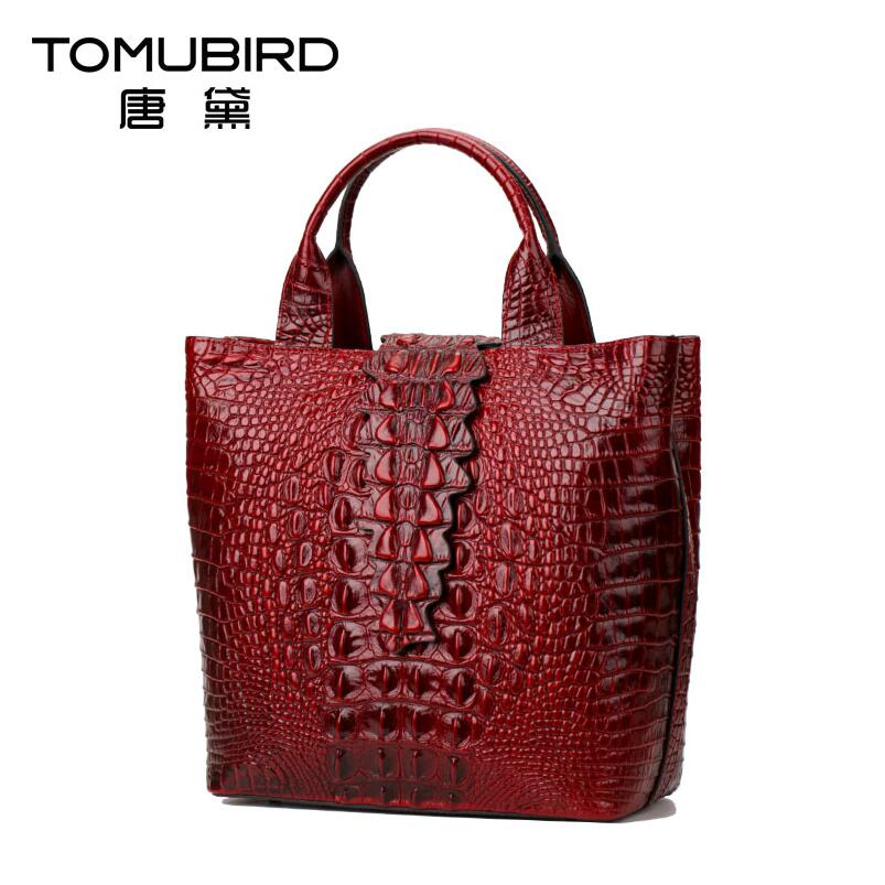 2017 New luxury handbags women bag designer quality genuine leather fashion alligator grain women leather handbags shoulder bag shirtaporter брюки капри