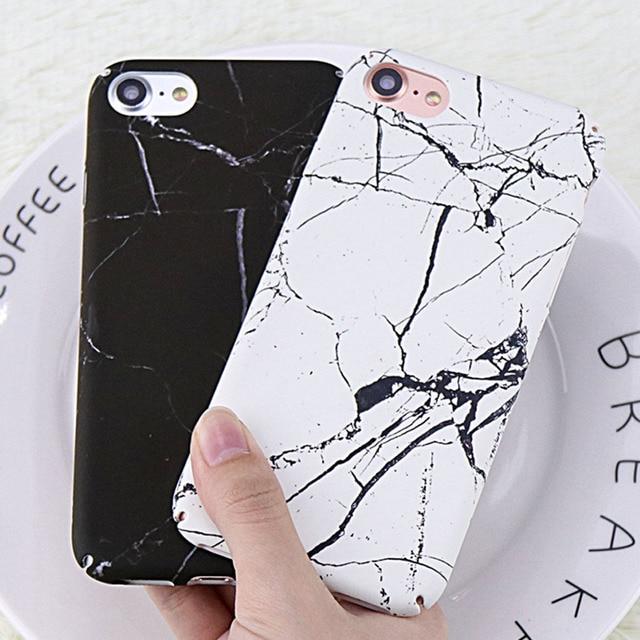personalised marble iphone 7 plus case