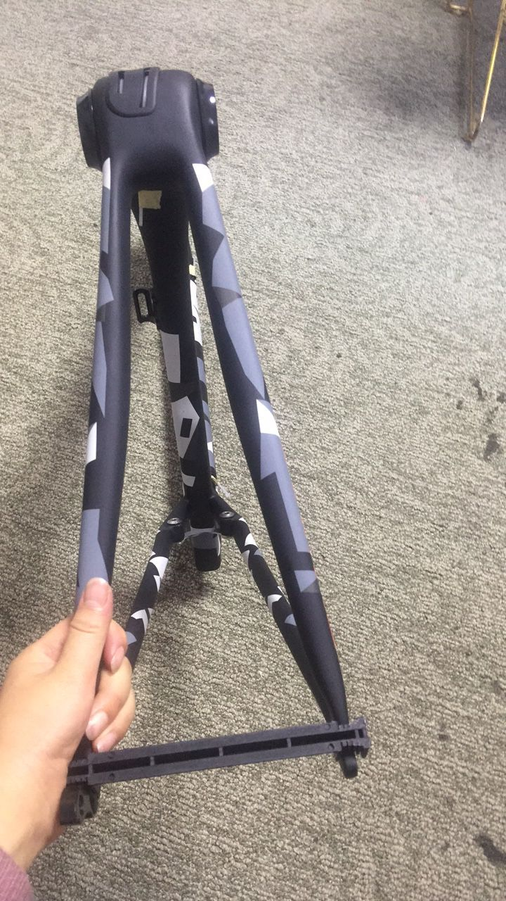 Camouflage color bike frame cheaper road bike frame in carbon super light sl6 cycling frameset 44/49/52/54/56/58 free shipping(China)