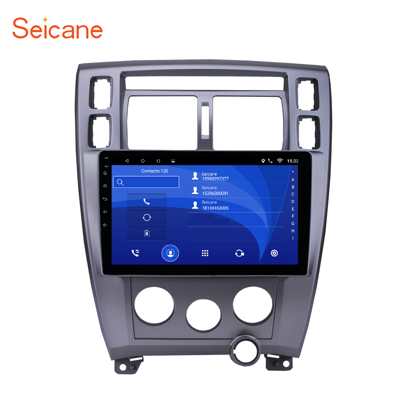 Seicane Android 8.1 10.1 Autoradio GPS Navigation Pour Hyundai Tucson Gauche Conduite À 2006 2007 2008 2009 2010 2011 2012 2013