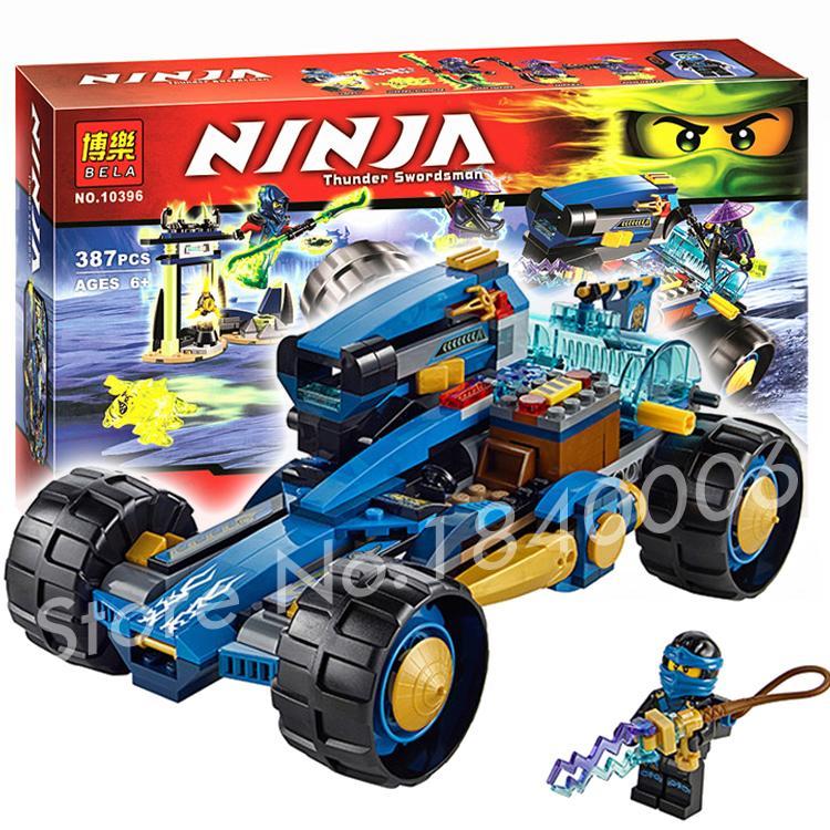 386pcs 2016 Bela 10396 Ninja Jay Walker One Minifigures toys Building Bricks Figures Kids Education Compatible