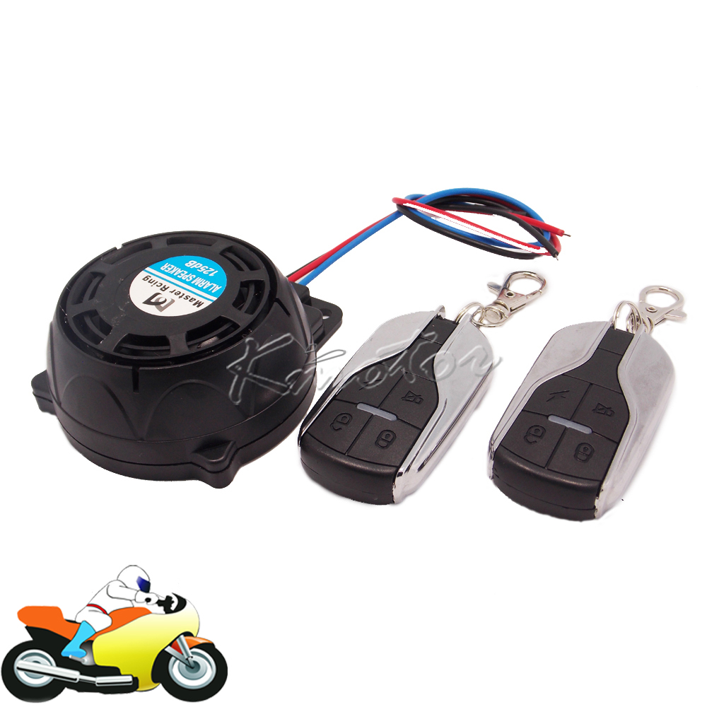 125dB Mini Motorcycle Scooter Bike Alarm Speaker 9 12v ...