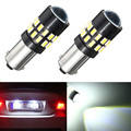 2pcs Car LED Light BA9s 3014 30smd Car License Plate Lights Bulb Lamp Super Bright Pure White 6000K DC12-24V Car Styling