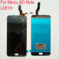 100 Warranty LCD Display Touch Screen Digitizer Assembly For Meizu M3 Note L681H Cell Repair Part