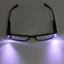 Drop shopping Outdoor LED Lights Reading Glasses Night Vision Glasses With Lamp Eye Protection