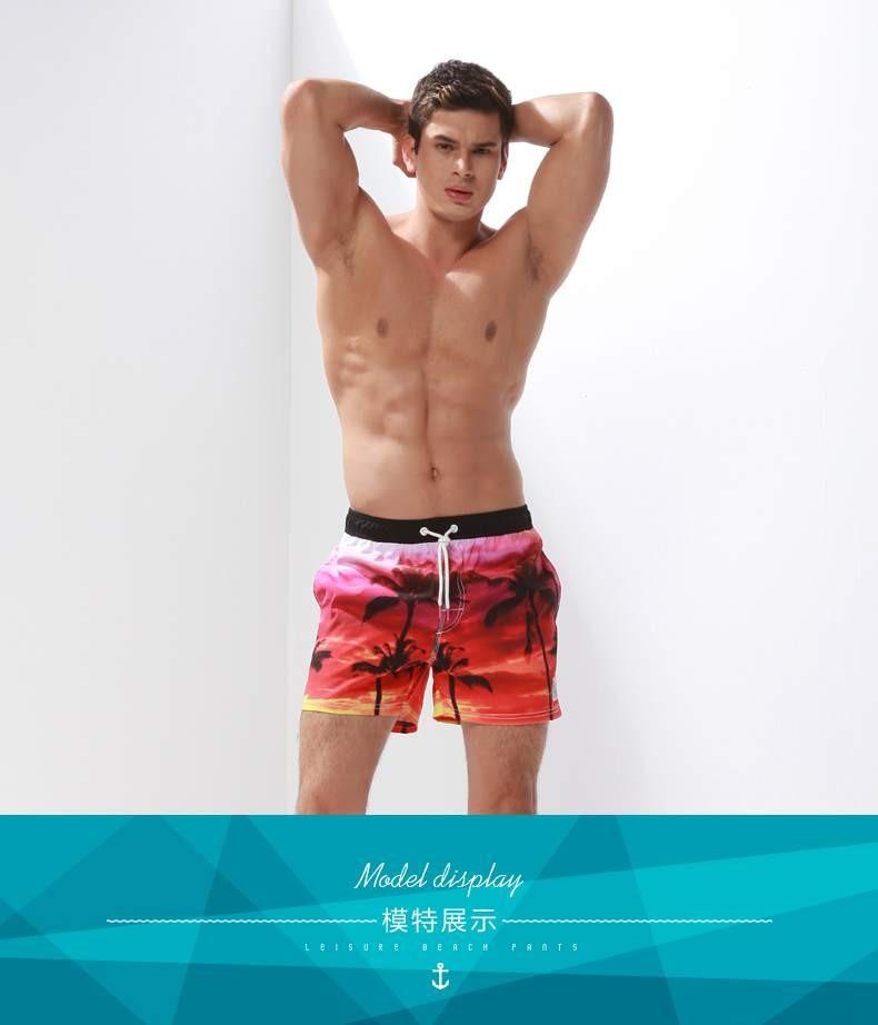 mens shorts dos homens do mar plus