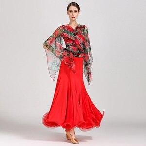 Image 3 - Платье для бальных танцев Foxtrot flamenco, платье для бальных танцев