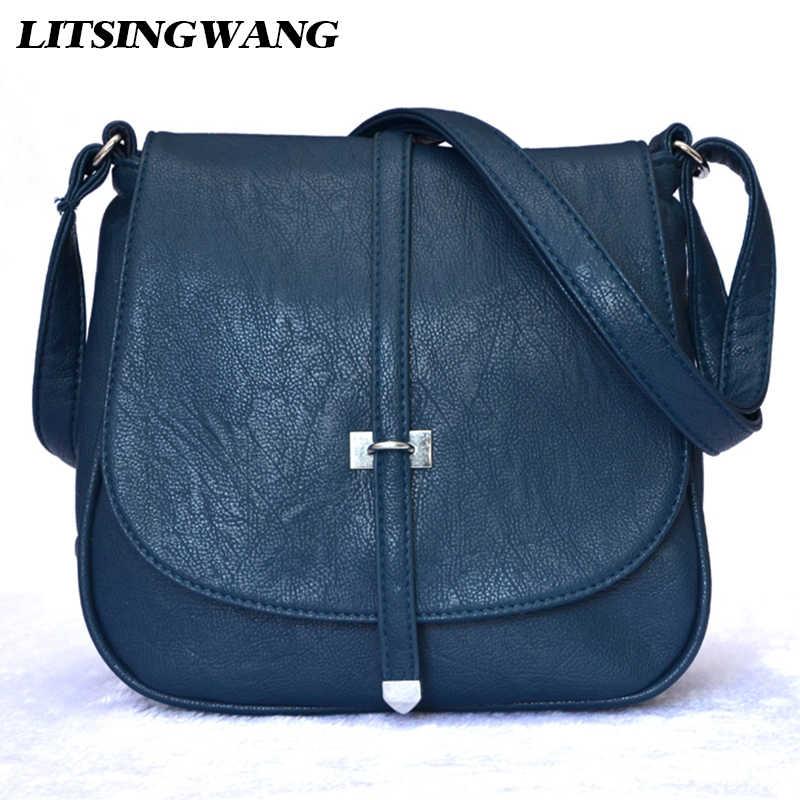 f1e056c524e1 LITSINGWANG Брендовые женские сумки-мессенджеры сумки через плечо для женщин  женская сумка из искусственной кожи