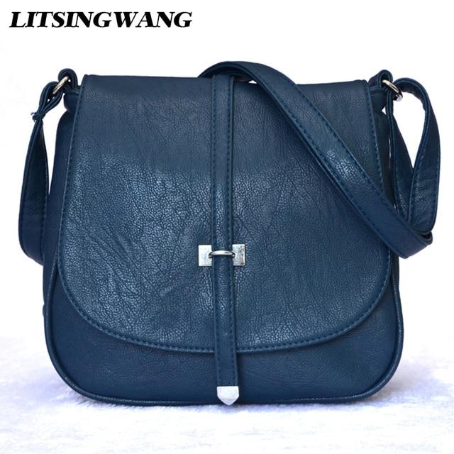 4781d27a8fe LITSINGWANG Brand Women-messenger-bags Crossbody Bags for Women Female-bag  Ladies PU leather Handbags Woman Small Shoulder Bag