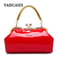 Fashion Women Shoulder Bag High Quality Female Bag Large Capacity Patent Leather Women Handbags Designer Diamonds Ladies Bags