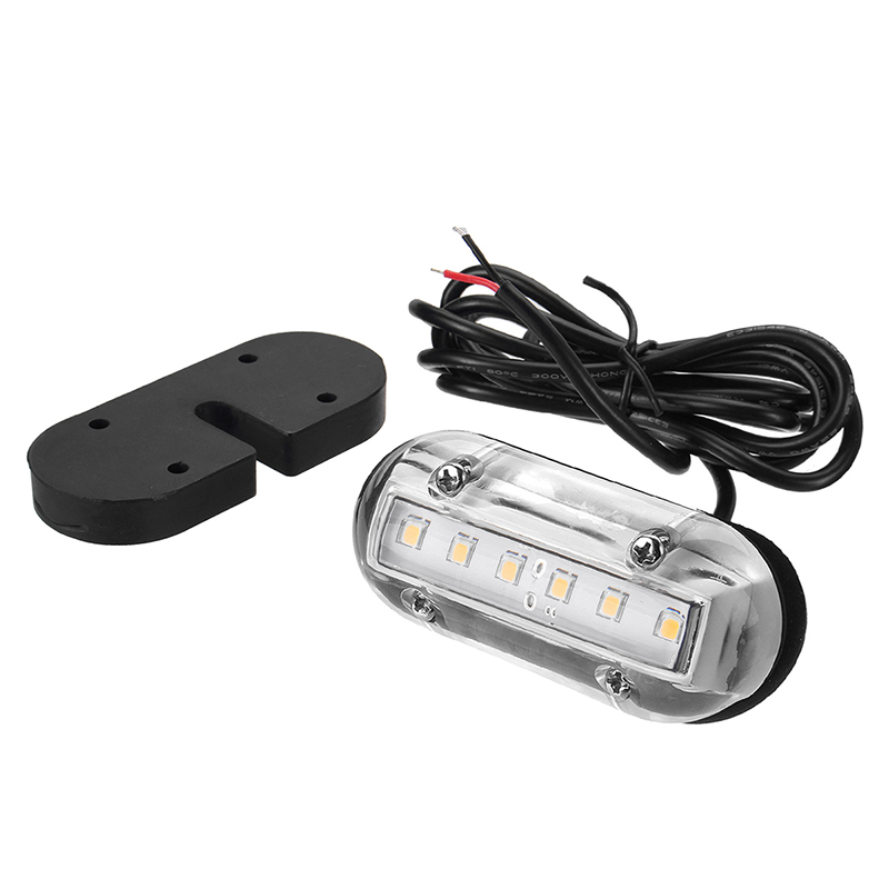 Image 4 - 12V Marine Yacht LED Underwater Light Waterproof Landscape Lamp Boat Accessories White/Blue/Green-in Marine Hardware from Automobiles & Motorcycles