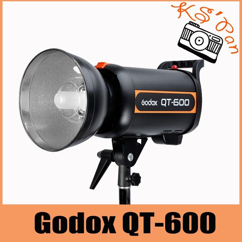 Godox QT-600 Speed Studio Strobe Flash Light Lighting Lamp Head 120V 600W 600WS fashionable flower spliced sequins embellish sleeveless girl s bowknot design mini ball gown dress