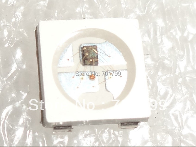 100pcs WS2812B;4pin;5050 SMD RGB LED with built-in WS2811 IC inside