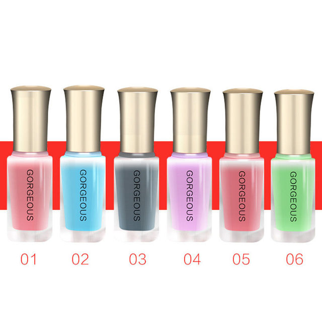 Online Shop BK Brand Nude Series Translucent Nail Polish Like Jelly ...