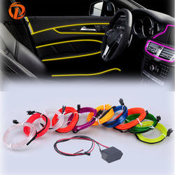 POSSBAY Гибкая неоновый свет свечение EL трос ленты прокладки кабеля светодиодный неоновый свет 3 м светодиодный стайлинга автомобилей