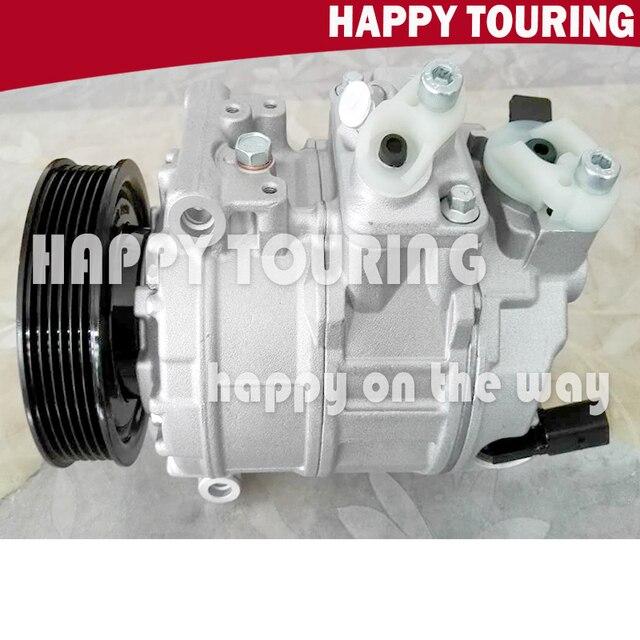 AC Compressor para VW GOLF MK5 A/C Compressor 1K0820859E 1K0820859T 1K0820859N 1K0820859C 1K0820859SX 1K0820859J 1K0820859S