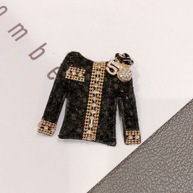 Di lusso Fatto A mano Abiti Vintage Spilla Collare Lettera di Modo 5 Perla Frangia Corpetto Spille Donna Accessori