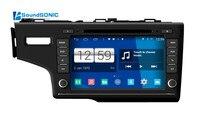 Android 4.4.4 For Honda Fit 2014 2015 Auto Car Radio Stereo DVD GPS Navigation Sat Navi Autoradio Bluetooth Multimedia System