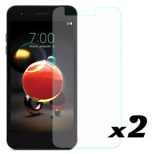 9H HD Tempered Glass Screen Protector Fingerprint Resistant Anti Scratch Front Films For LG Tribute Dynasty / Aristo 2 / K8 2017 yi yi high quality arm anti dust anti scratch hd screen protector for lg nexus 5 10pcs