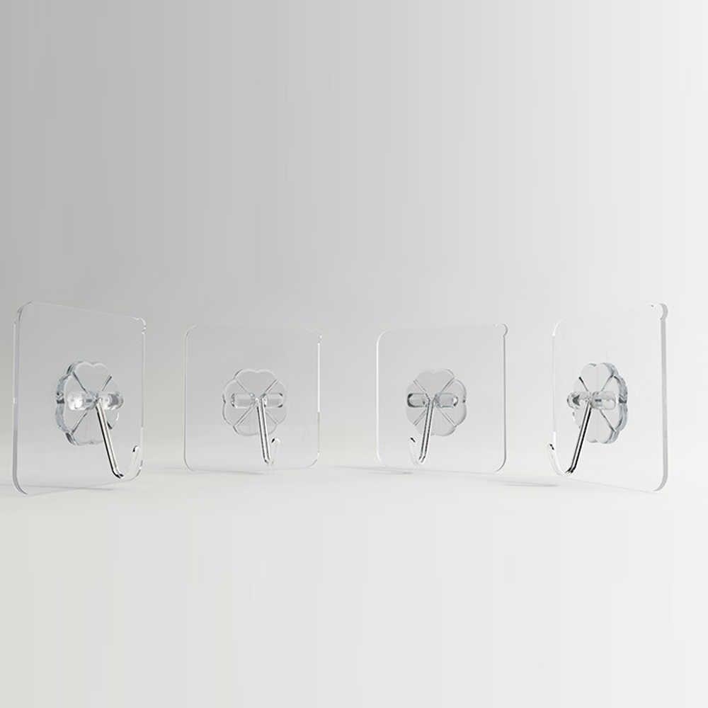 Kształt kwiatu pcv łazienka żelaza hak haki ścienne wieszaki akcesoria kuchenne gospodarczej próżni frajerem okno 10 sztuk 5 sztuk