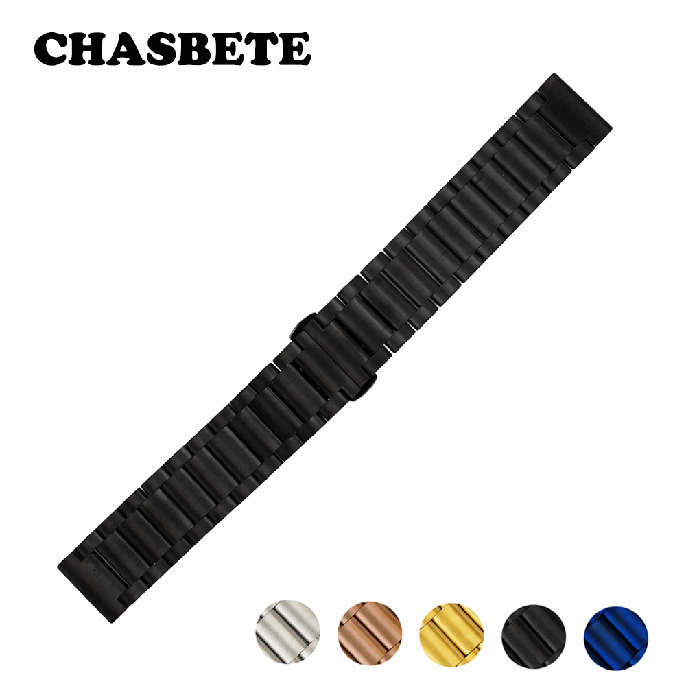 16mm 20mm 22mm Stainless Steel Watch Band for Orient Men Women Quick Release Metal Strap Wrist Loop Belt Bracelet Black Blue ceramic stainless steel watchband universal quick release watch band butterfly clasp wrist strap 12mm 14mm 16mm 18mm 20mm 22mm