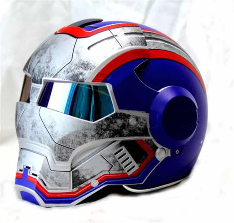 Масей 610 Ретро мотоциклетный шлем Железный старинные мотоциклетные шлемы