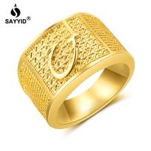 SAYYID Luxury Brand Statement Jewelry Vintage gold&Vintage s
