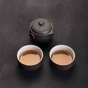 Image 3 - TANGPIN japanese ceramic teapot gaiwan teacups handmade portable travel office tea set