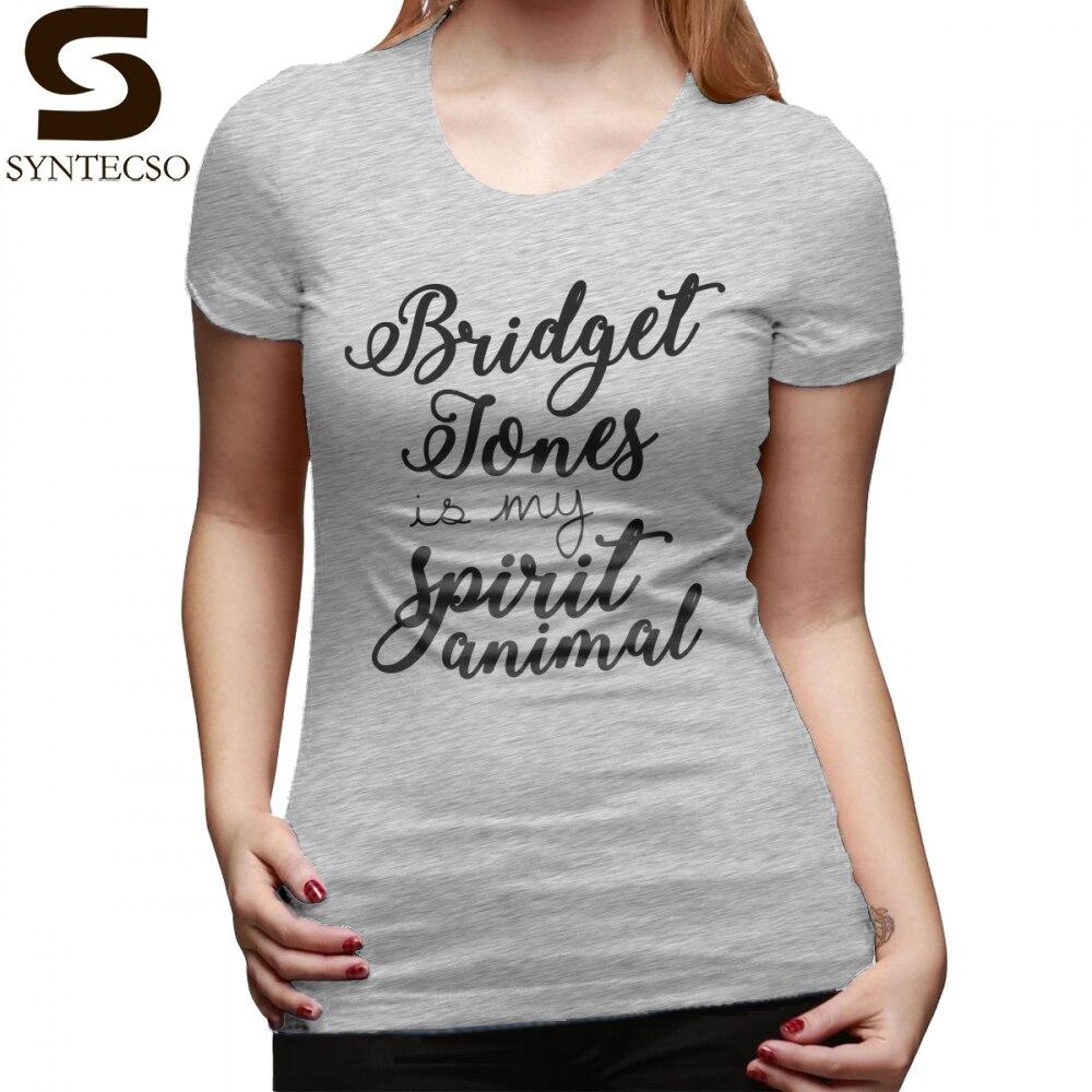 Best Friends Sisters T-Shirt Bridget Jones Is My Spirit Animal T Shirt Trendy Cotton Women tshirt Print Ladies Tee Shirt