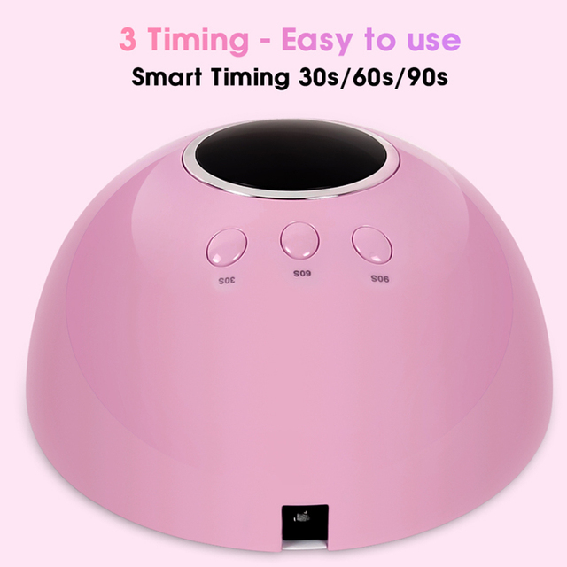 36W UV Led Lamp Nail Dryer For All Types Gel 12 Leds UV Lamp for Nail Machine Curing 30s/60s/99s Timer USB Connector 10