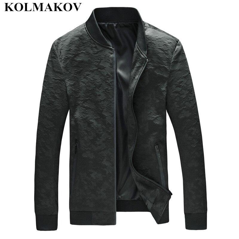 Nouveau hommes 2019 vestes hommes automne imprimé manteaux hommes mode manteau Homme Bomber veste coupe-vent Slim grande taille M-5XL, 6XL, 7XL