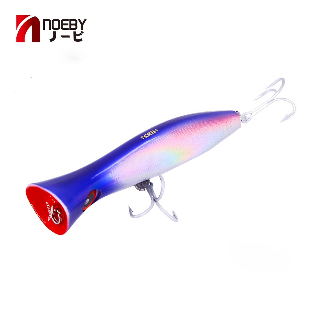 Fishing Lure Popper Bait With Barbed Hook Fishing Tackle 7cm Saltwater BEST New