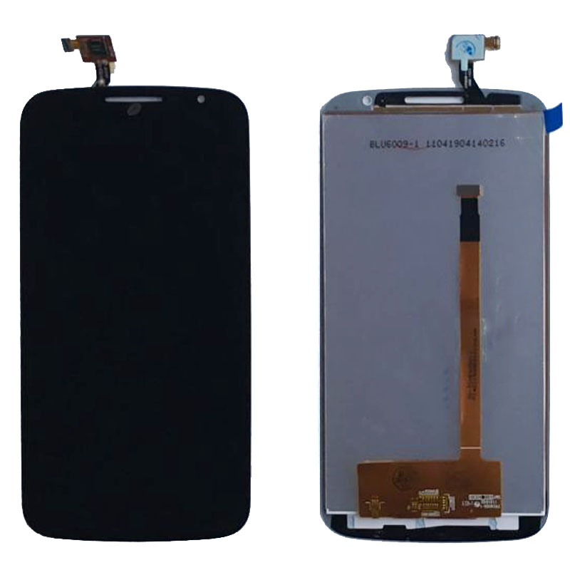 Black LCD Display Glass Touch Screen Digitizer Assembly For Alcatel One Touch Pop S9 OT7050 7050 7050y Replacement original lcd display touch screen digitizer assembly with frame for alcatel one touch idol mini 6012 6012a replacement