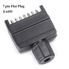12v 7 pin flat trailer plug  waterproof truck socket adapter connector caravana rv car accessory campe autoparts New Zealand