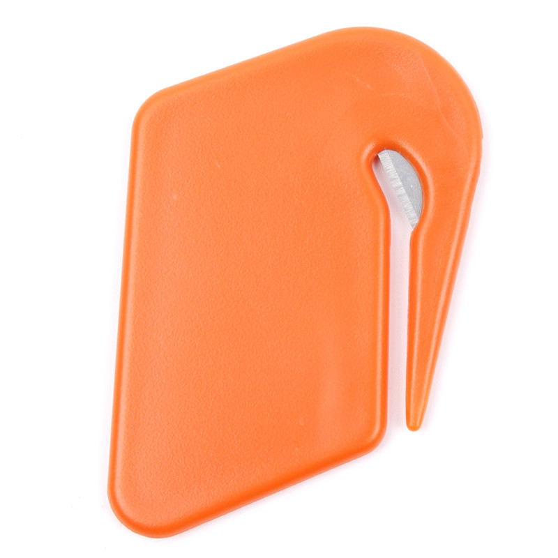 Plastic Mini Letter Knife Letter Mail Envelope Opener Safety Paper Guarded Cutter Blade Office Equipment Cutting Supplies 3